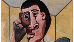Picassův obraz se zatím dražit nebude, dílo za 1,5 miliardy korun bylo chvíli před aukcí poškozeno