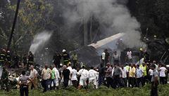 Na palubě letadla, které havarovalo na Kubě, zahynulo přes sto lidí