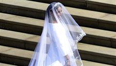 Svatební šaty Meghan Markleové budou vystaveny ve Windsoru. Výstava potrvá do ledna příštího roku