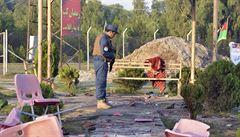 Při útoku na stadión v Afghánistánu zahynulo osm lidí