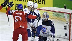 Čeští hokejisté mají čtvrtfinále MS jisté. Francouze smetli suverénně 6:0