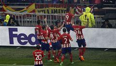Griezmann kraloval, Atlético ovládlo Evropskou ligu a radují se i Češi