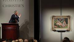 V dražbě století nejvíc táhl Picasso. Pozůstalost Rockefellerů vynesla 14 miliard korun