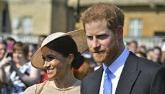 Princ Harry a jeho novomanželka Meghan se poprvé od svatby objevili na veřejnosti