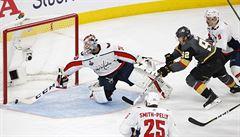 Skvělý Nosek dvěma góly pomohl Vegas k výhře v úvodním finále NHL