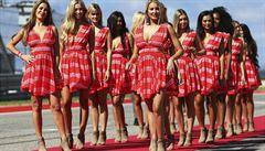 Na start formule 1 se vrací sličné dívky. 'Je to nejkrásnější věc na světě,' říká Hamilton