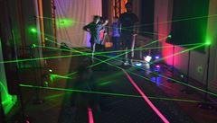 Temná komora i laserové bludiště. Největší lákadla čtvrtého Veletrhu vědy