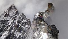 'Tý vogo, je to tam'. Holeček s Hákem zvládli prvovýstup na nepálskou Kyajo Ri