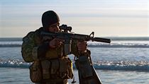 Člen elitní jednotky Navy SEALs.