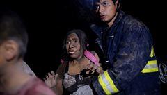 Největší erupce od roku 1974. Výbuch sopky v Guatemale si vyžádal nejméně 25 obětí