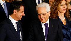 Itálie má novou vládu. Giuseppe Conte stane v čele vlády populistických stran