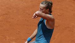 Špatný den českých tenistek na French Open. Kvitová i Plíšková končí ve třetím kole