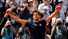 Rakušan Thiem poprvé ve finále grandslamu, zdolal italské překvapení Cechinata
