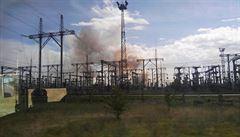 U odstavené jaderné elektrárny Černobyl hoří les. Úřady uklidňují