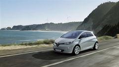 Renault začal v Česku prodávat elektromobily, základní cena modelu ZOE je 829 tisíc