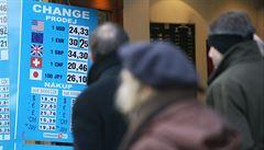 Pražské směnárny končí s rublem. Někde doprodávají, jinde úplně zmizel