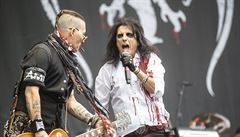 RECENZE: Alice Cooper Ozzyho Osbournea přezpíval, Zakk Wylde jej přehrál