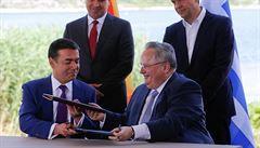 Makedonie se po dohodě s Řeckem přejmenuje na Republika Severní Makedonie