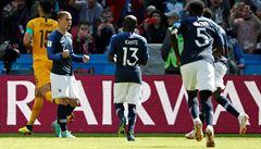 Francie - Austrálie 2:1. Video a branková technologie pomohly vítězům k oběma gólům