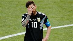 Argentina vs. Island 1:1. Seveřané vybojovali historický bod, Messi nedal penaltu