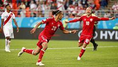 Peru - Dánsko 0:1. Jihoameričané nedali penaltu, rozhodl Poulsen
