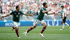 Mexiko zažilo zemětřesení. Způsobil ho gól na světovém šampionátu