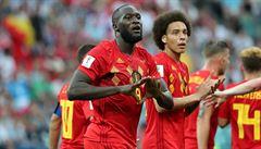 Belgie - Panama 3:0. Panama dlouho držela krok, dvěma góly ji ale dorazil Lukaku