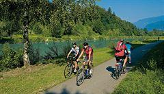 Drávská cyklostezka v Rakousku: pohodová jízda slunečnou stranou Alp