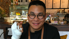 ASI.JATKA: Kavárník, designér a chovatel akvarijních rybiček Jackie