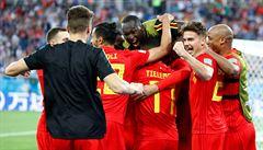 Anglie - Belgie 0:1. Belgičané jdou na Japonce, Anglie bude hrát s Kolumbií