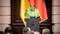 Merkelová odsoudila vyhnání Němců. Nemá podle ní morální ani politické ospravedlnění