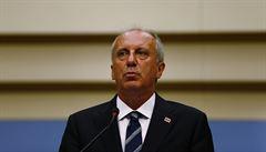 Erdoganův soupeř v tureckých prezidentských volbách uznal porážku