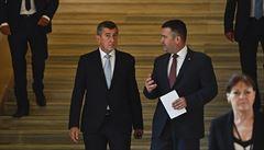 ANO odpoledne podepíše koaliční smlouvu s ČSSD a toleranční dohodu s komunisty