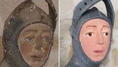 Dřevořezbu ze 16. století zrestauroval učitel výtvarné výchovy. Tady je výsledek