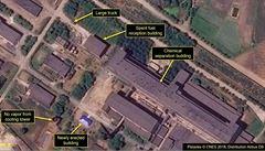 Severní Korea dál vylepšuje svůj jaderný program, odhalují satelitní snímky