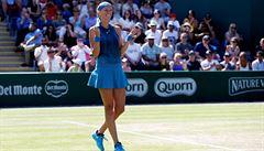 Dvojnásobná šampionka Kvitová začne Wimbledon proti Bělorusce Sasnovičové