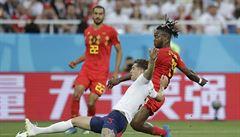 VIDEO: Komik Batshuayi. Belgičan oslavil gól tím, že si napálil míč do obličeje