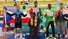 Úspěšná mise badmintonisty Mendreka: dvě stříbra z Kamerunu a Pobřeží slonoviny