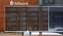 Kryptoměnovou burzu Bithumb napadli hackeři, ukradli virtuální mince v hodnotě 700 milionů