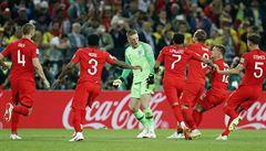VIDEO: Před 22 lety selhal. Teď je Southgate v eufórii, Anglie zlomila penaltové prokletí