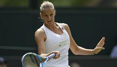 Prokletí zlomeno. Karolína Plíšková je po skvělém výkonu ve 3. kole Wimbledonu