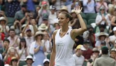 Plíšková: Pořád nejsem z Wimbledonu nějak odvařená. Další výhry to ale mohou změnit