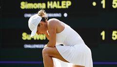 Wimbledon: v prvním týdnu končí i světová jednička Halepová, Veselého čeká Nadal