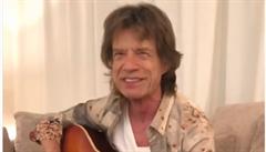 'Moje verze Pec nám spadla!' Mick Jagger zazpíval v češtině dětskou písničku