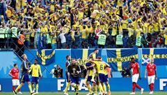 Švédsko - Švýcarsko 1:0. Seveřané postupují do čtvrtfinále po 24 letech