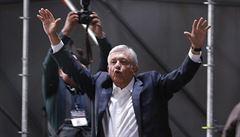 Novým prezidentem Mexika se stane levicový kandidát Manuel López Obrador