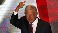 'Lidský prezident' mění Mexiko. Obrador slíbil radikální transformaci, chce vykořenit zkorumpovaný režim