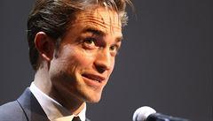 Robert Pattinson převzal cenu prezidenta festivalu ve Varech