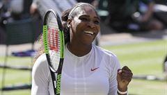 Legendární Serena Williamsová je deset měsíců po porodu v semifinále Wimbledonu