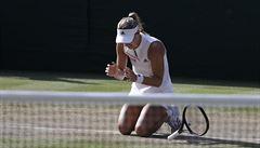 Williamsová pohádku po porodu nedotáhla. Kerberová ji nedala ve finále Wimbledonu šanci